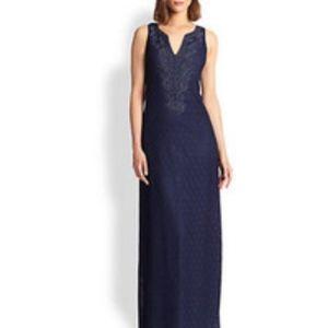 Lilly Pulitzer navy Westport maxi dress